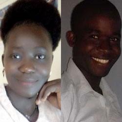 Nancy Kadenyi and Bonventure Makhaya