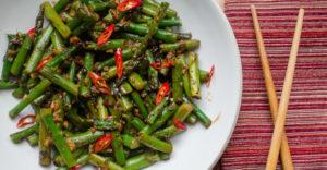 Spicy Asparagus in Black Bean Sauce Recipe