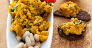 Spiced Carrot and White Bean Dip Recipe