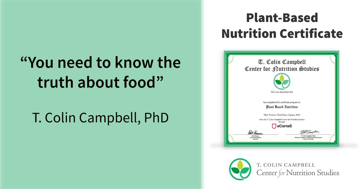 nutrition-certificate-facebook - Center for Nutrition Studies