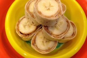 Banana Pinwheels Recipe