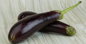 Eggplant and Mushrooms with Peanut Sauce