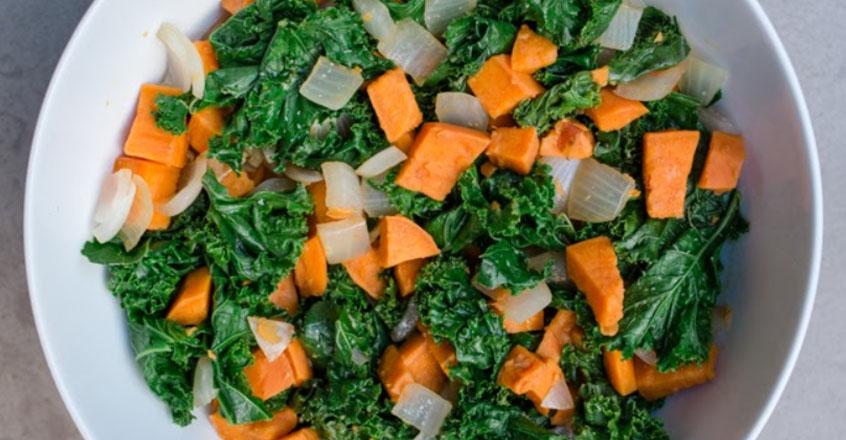 Green and Orange Balsamic Toss