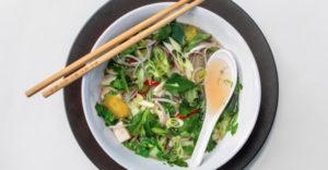 Vegan Pho Vietnamese Noodle Soup