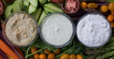 Oil-Free Dressings & Dips