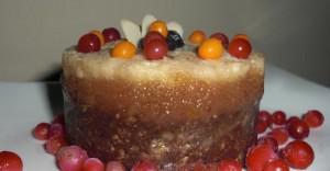 Raw Cinnamon Layered Cake Recipe