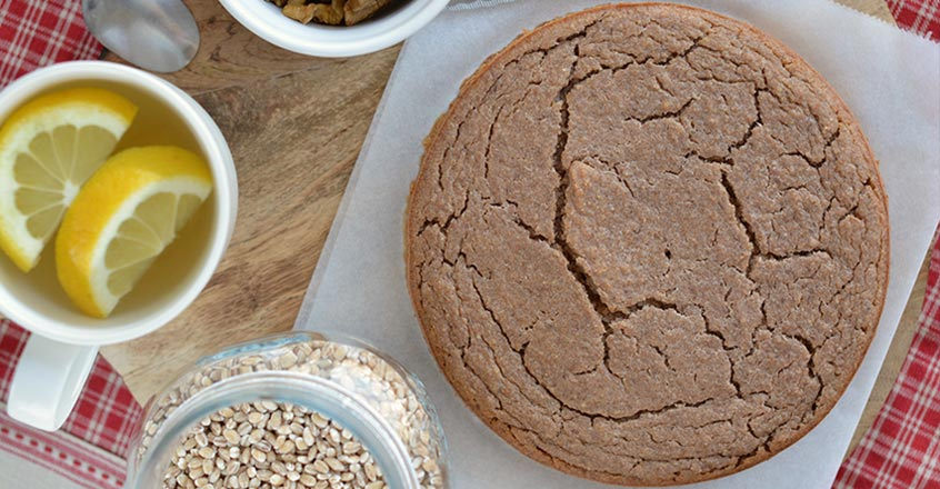 Quick Barley Bread Karask Recipe