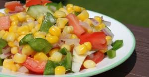Fresh Corn Salad - Plant-Based Diet Recipe