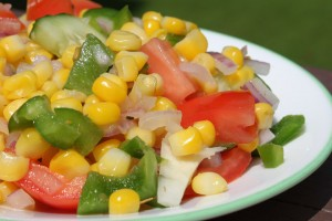 Fresh Corn Salad - Plant-Based Diet Recipe