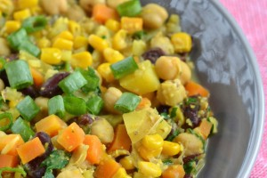 Hearty Red Bean & Chickpea Stew Recipe