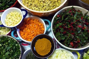 Lentil Stew with Braised Greens Recipe