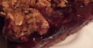Blueberry Oatmeal Crisp Recipe