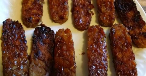 Smoked Tempeh Bacon