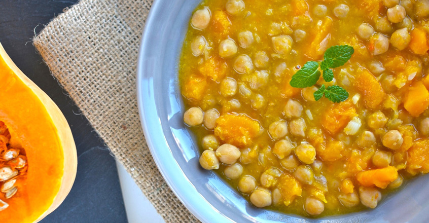 Squash & Chickpea Stew Recipe