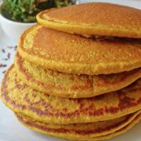 Kale and Sweet Potato Pancakes Recipe