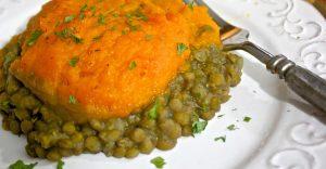 Lentil Butternut Squash Shepherd's Pie Recipe