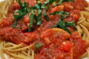 Pomodoro Sauce With Summer Vegetables Recipe