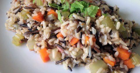 Easy Wild Rice Pilaf