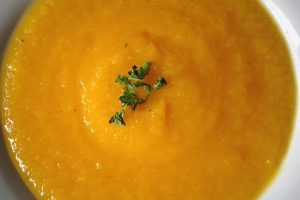 Roasted Pumpkin and Parsnip Soup Recipe