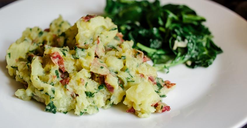 Smashed Potatoes Plant-Based Recipe