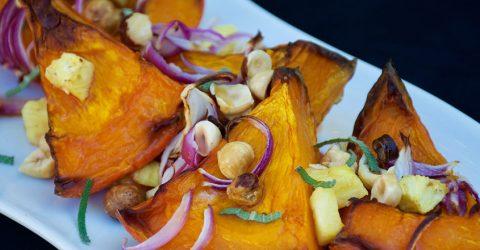 Roasted Red Kuri Squash and Pineapple Recipe