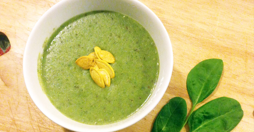 Creamy Spinach & Potato Soup