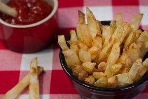 Baked Salt and Vinegar Fries Recipe