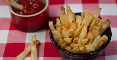 Baked Salt & Vinegar Fries