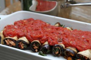 recipe Eggplant Rotolo