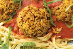 Spaghetti and Meatballs Plant-Based Recipe