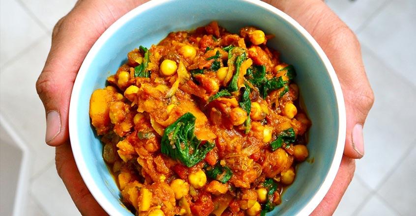 Sweet Squash and Garbanzo Curry Recipe