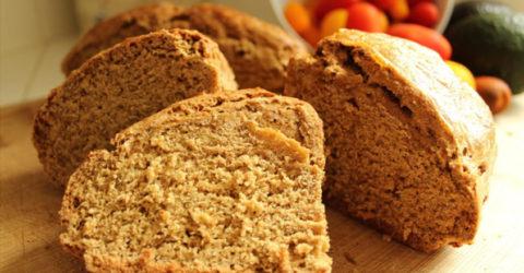 Traditional Irish Brown Soda Bread – Vegan Style