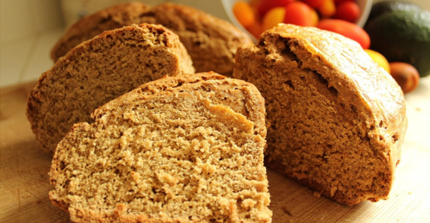 Traditional Irish Brown Soda Bread - Vegan Style