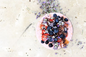 Strawberry Chia Seed Bowl