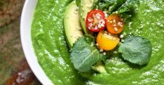 Raw Emerald Kale Soup