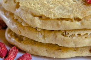 Goji Chia Pancakes