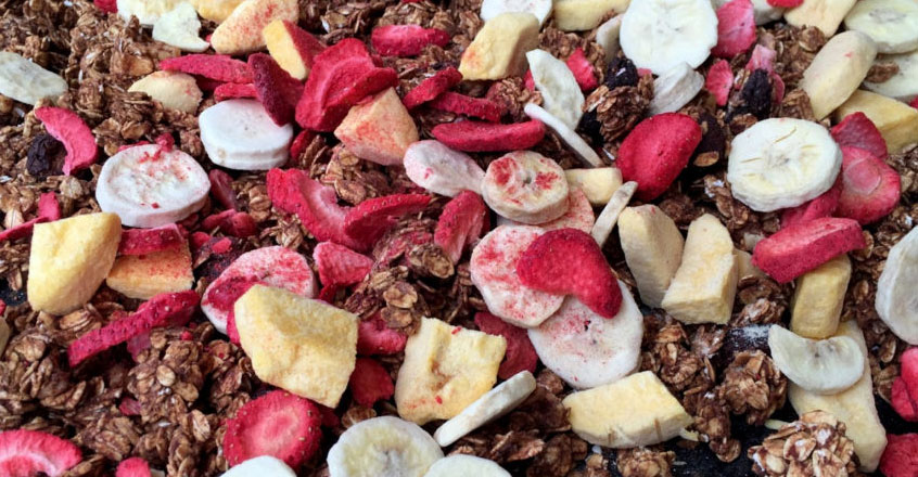Guilt-Free Chocolate Granola