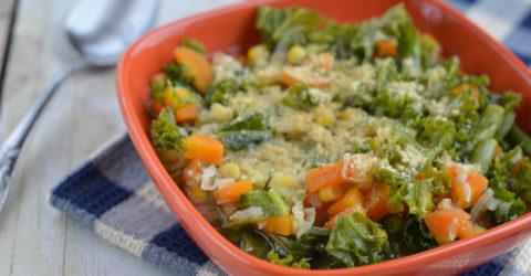 Sopa de kale y lentejas
