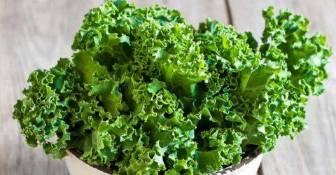 Vegetales verdes al vapor