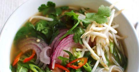 Pho vegano – Sopa vietnamita de fideos
