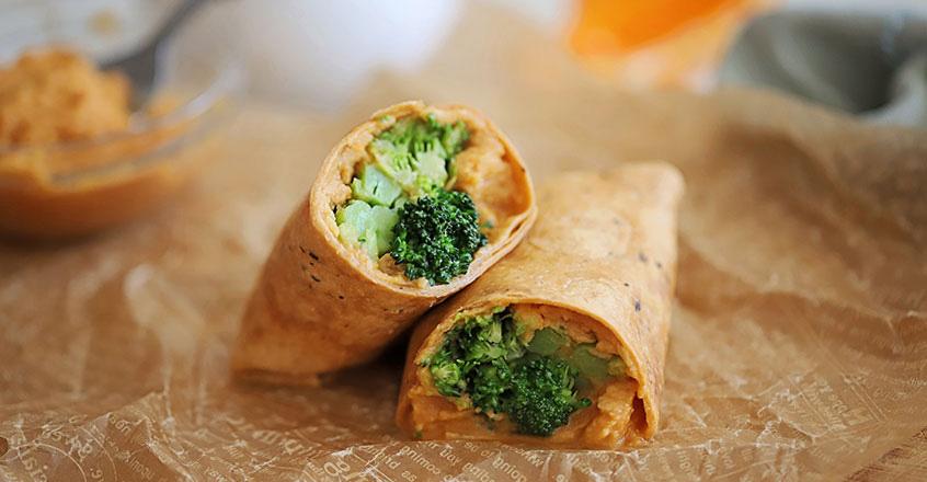 Burritos de brócoli