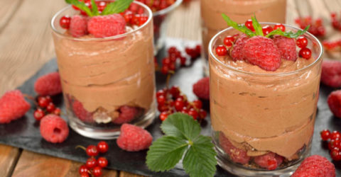 4 Ingredient Chocolate Mousse