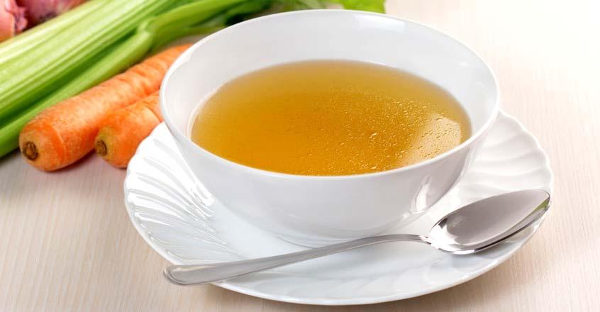 Caldo de verduras sin sodio