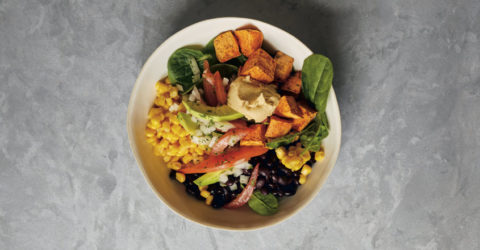 Sweet Potato and Black Bean Salad Bowl