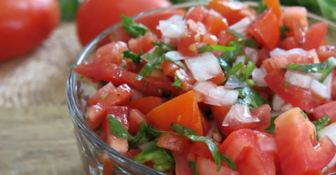 Authentic Mexican Pico de Gallo Salsa