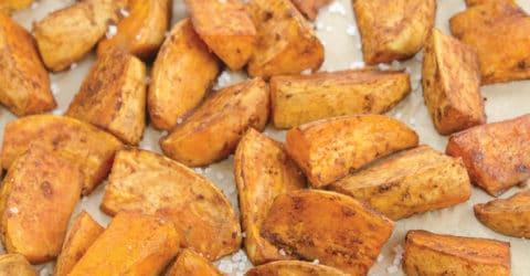 Balsamic-Glazed Seasoned Yam Fries