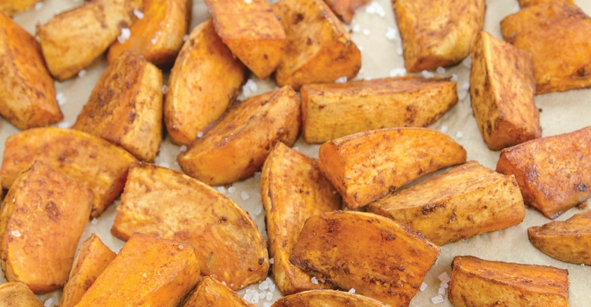 Balsamic-Glazed Seasoned Yam Fries