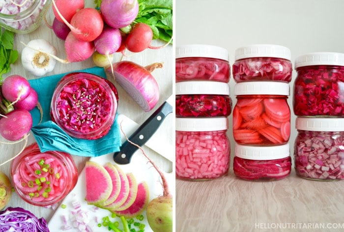 How to Make Quick-Pickled Veggies in the Refrigerator