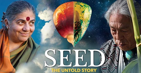 """Movie poster for """"SEED"""""""