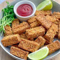 Nuggets crujientes de tofu-1